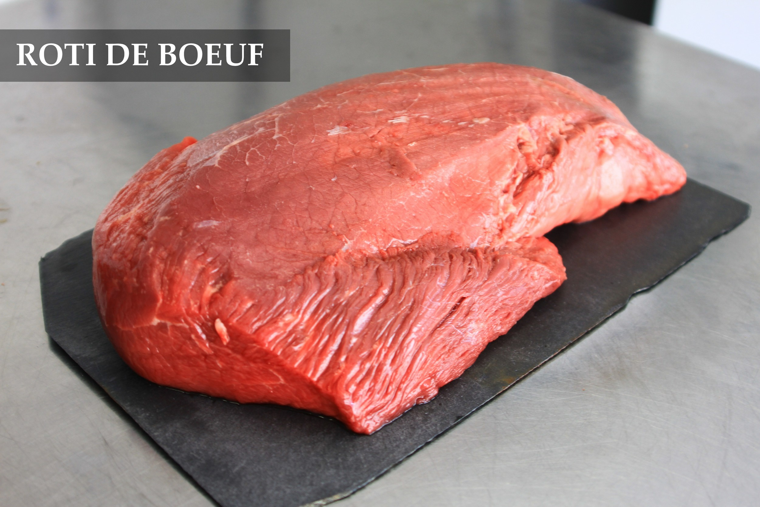 Photo d'un roti de boeuf